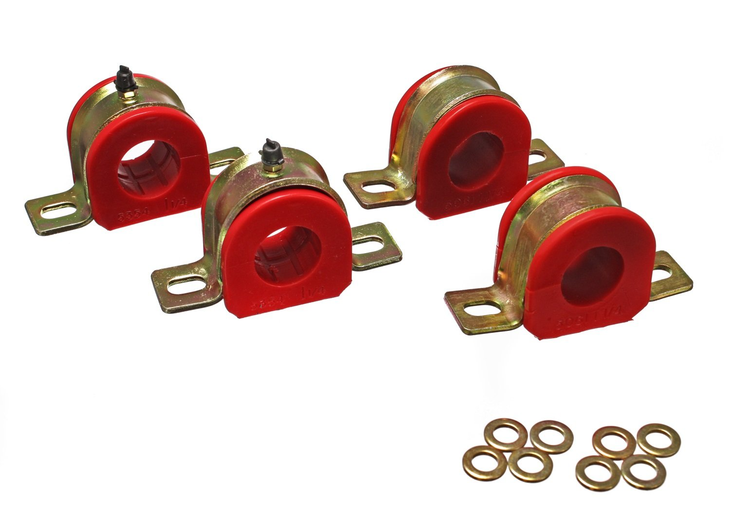 Energy Suspension 3.5177R 1-1/4' Greasable Sway Bar Set for GM