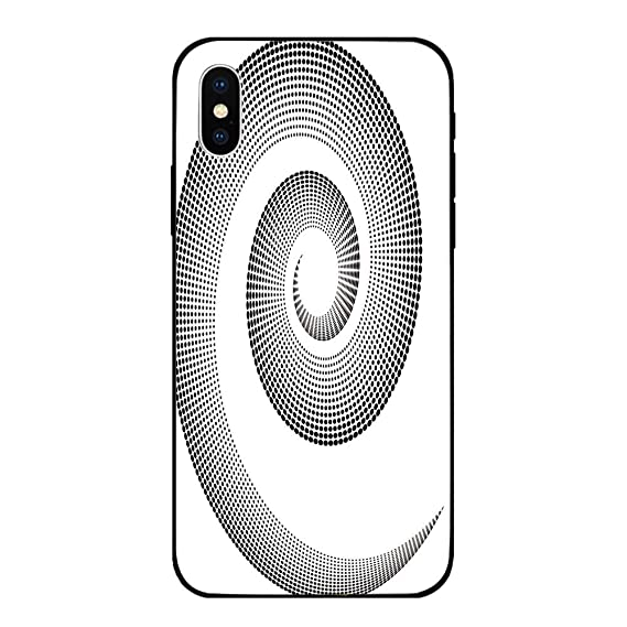 pretty nice a9cb4 8ff69 Amazon.com: Phone Case Compatible with iPhone X BrandNew Tempered ...