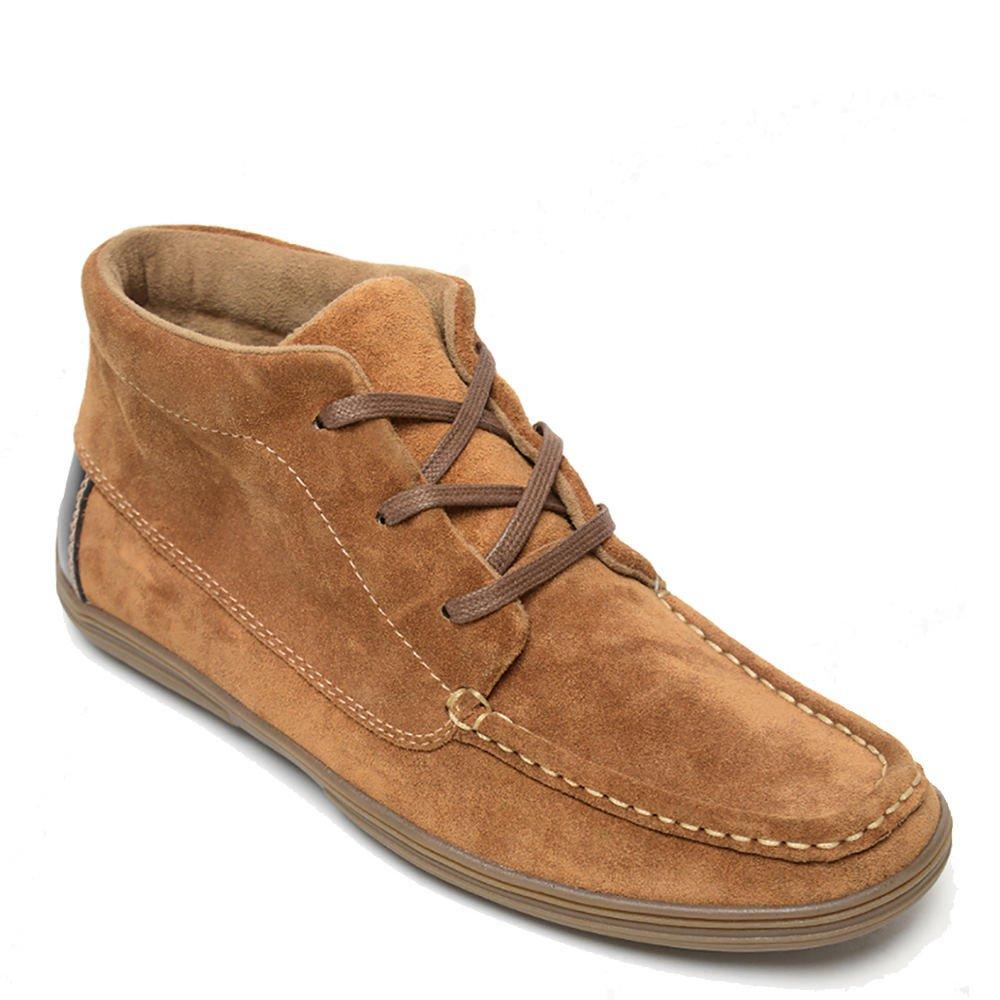 Minnetonka Mens Griffon Boot, Chestnut, Size 11
