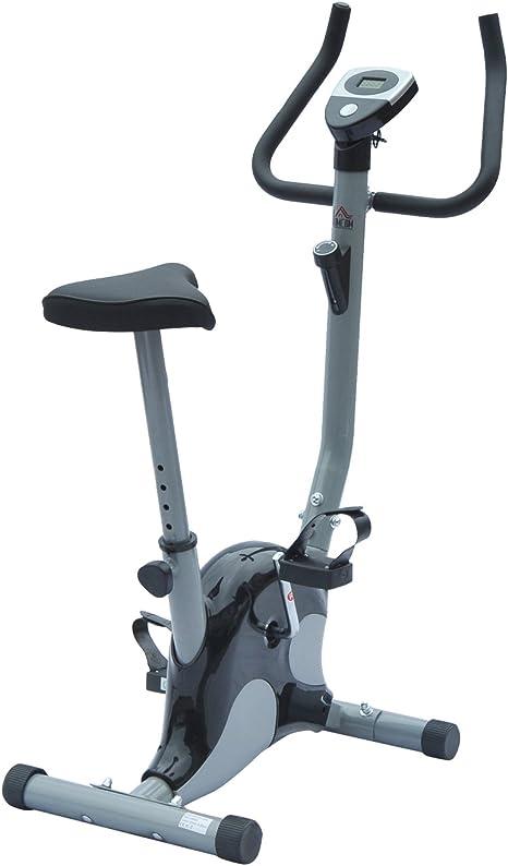 Bicicleta estática ejercicio fitness Cardio con contador LCD ...