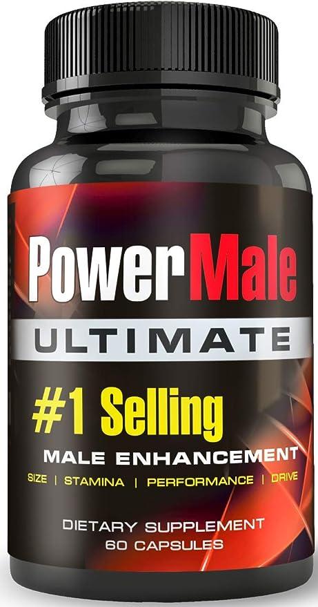 Amazon.com: PowerMale Ultimate - #1 Male Enhancement Pills - Enlargement  Pills, Add Size, Strength, Stamina, Performance: Health & Personal Care