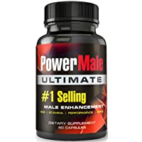 PowerMale Ultimate - #1 Male Enhancement Pills - Enlargement Pills, Add Size, Strength, Stamina, Performance