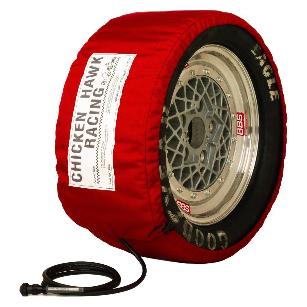 Chicken Hawk Racing A-DTC-16/88-92 - Auto Digital Pro-Line Model Tire Warmers - Width: 16' (406mm)/Circum: 88-92' (2230-2330 mm)