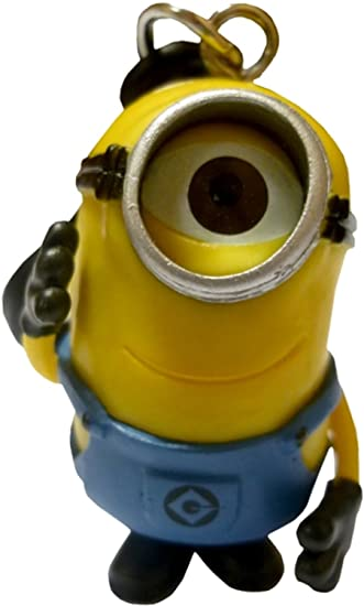 Amazon.com: Despicable Me 2 Minion 3d llavero – Stuart: Toys ...