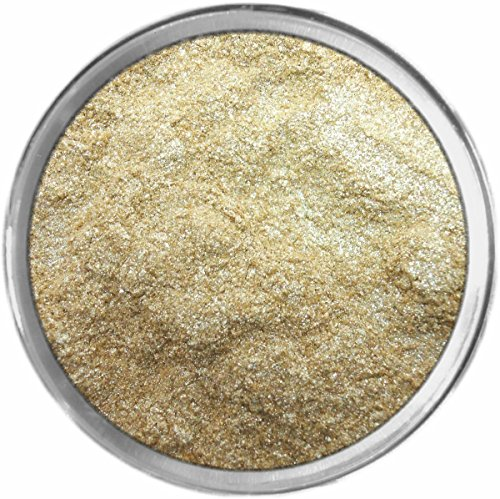 Holiday Lights Loose Powder Mineral Shimmer Multi Use Eyes Face Color Makeup Bare Earth Pigment Minerals Make Up Cosmetics By MAD Minerals Cruelty Free - 10 Gram Sized Sifter (Bareminerals Yellow Eye Color)