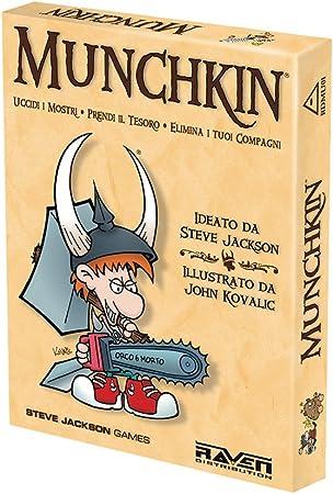 Raven Munchkin - Juego de Mesa (Contenido en Italiano): aa.vv.: Amazon.es: Juguetes y juegos