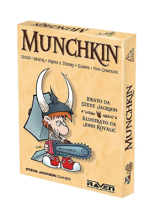 Raven Munchkin - Juego de Mesa (Contenido en Italiano): aa.vv ...