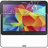 ebestStar - pour Samsung Galaxy Tab 4 10.1 SM-T530, T531 T535 [Dimensions PRECISES : 243.4 x 176.4 x 8 mm, écran 10.1''] - Film protection écran en VERRE Trempé - Vitre protecteur anti casse, anti-rayure