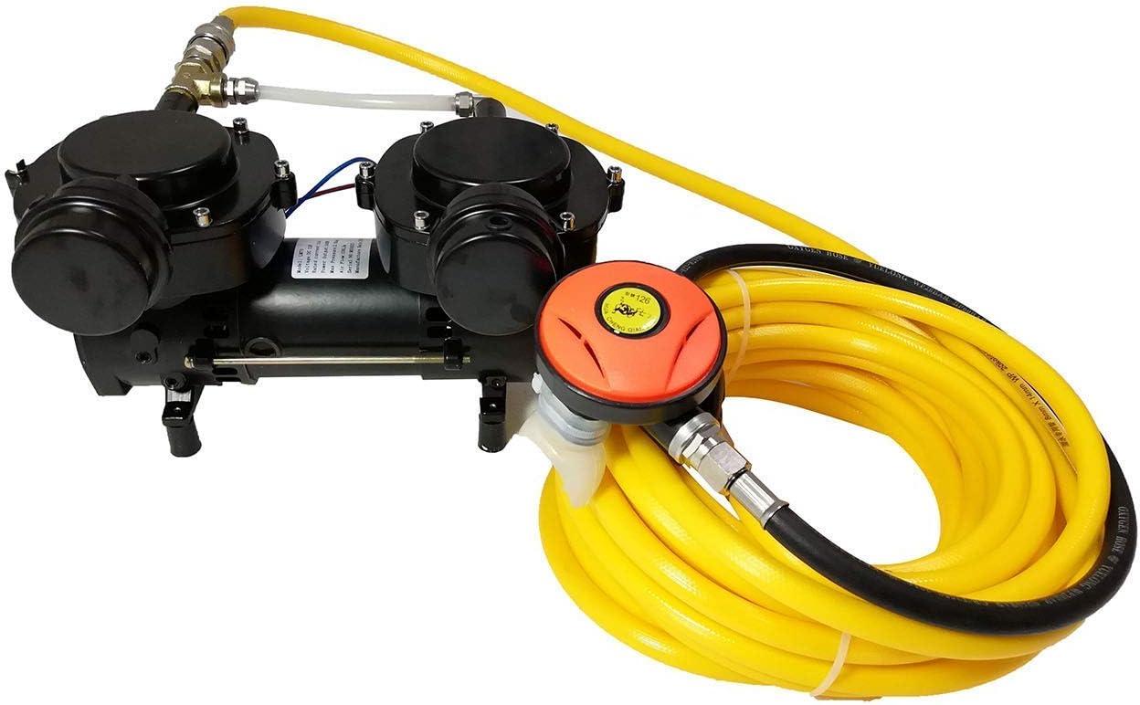 Davv D Machinery - Sistema de Buceo sin Aceite con Bomba de vacío para Snorkel