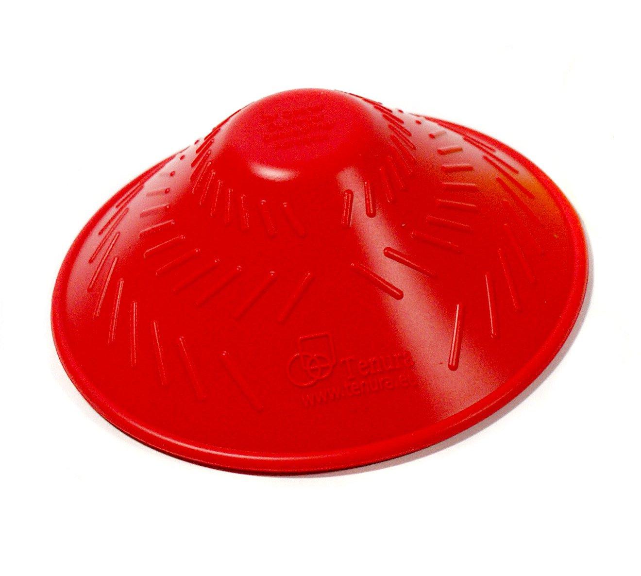 Tenura 75371-0001 Red Silicone Jar Opener, 4-5/8