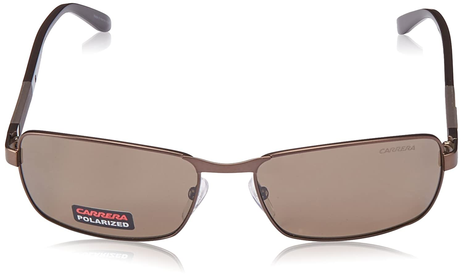 3c7933039b Amazon.com  Carrera 8017 S Sunglasses Matte Brown Brown   Bronze Polarized   Clothing