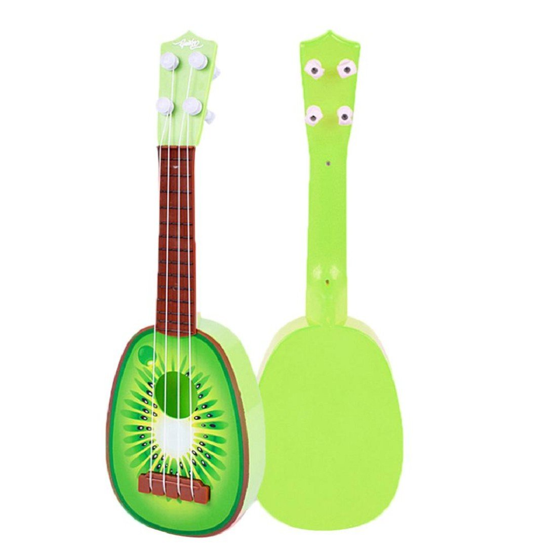 Tongshi Los niños aprenden Guitarra Ukulele Mini fruta puede tocar instrumentos musicales Juguetes: Amazon.es: Juguetes y juegos