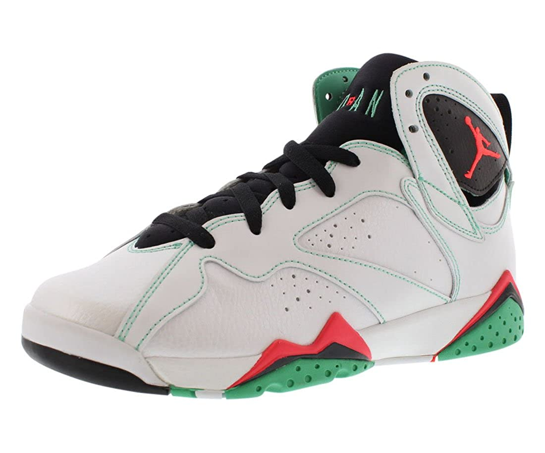 premium selection 490db 34d0f Amazon.com   Nike Air Jordan 7 VII Retro 30th GG Size 7.5Y Verde White  Infrared 705417-138   Basketball