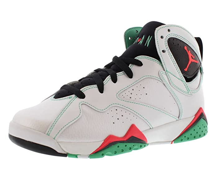 premium selection d4a55 cf189 Amazon.com   Nike Air Jordan 7 VII Retro 30th GG Size 7.5Y Verde White  Infrared 705417-138   Basketball