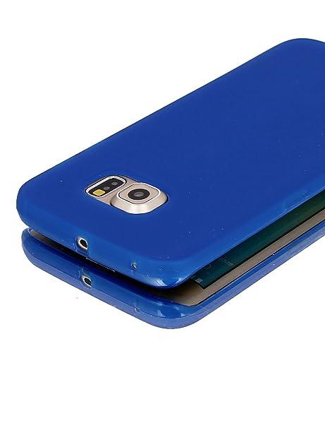 Amazon.com: eDealMax Volver cubierta de la caja del Protector Azul w ...