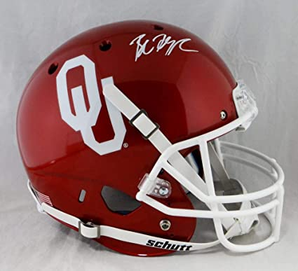 Image Unavailable. Image not available for. Color  Baker Mayfield  Autographed Oklahoma Sooners ... d7dab1502