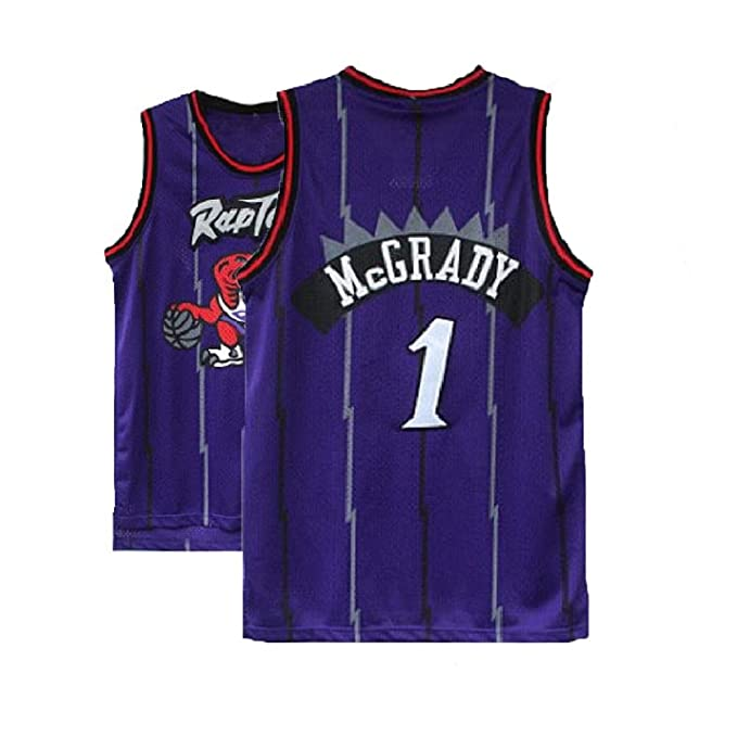 Image Unavailable. Image not available for. Color  Kedelac Men s McGrady  Retro Jerseys Tracy Blue Athletics Jersey Toronto Basketball  1 ... 1e892bd0b