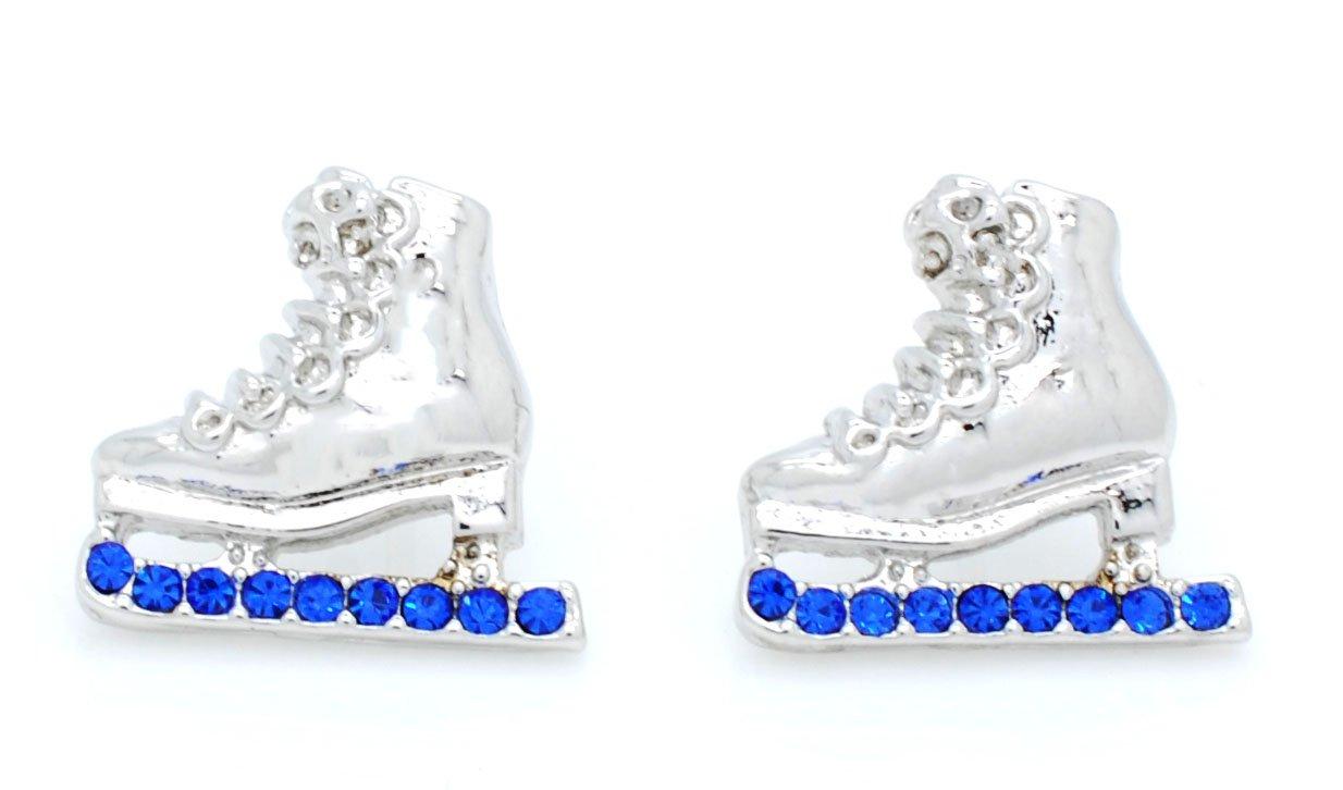 大人気新品 Ice Skateイヤリング – スケーターイヤリング – Crystalスケートイヤリング – – 多くの色利用可能なポスト&ダングル。 – – B078FN14DB Royal Post Royal Post, キッズハート:1c7316ab --- diceanalytics.pk