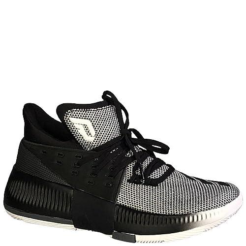   adidas Kids Unisex Dame 3 (Big Kid) Footwear