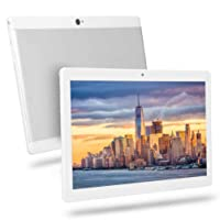 10 inch Android Tablet, 4GB RAM 64GB ROM,Octa-Core Processor, HD Touchscreen 5G-WiFi Tablet PC, Built-in Bluetooth WiFi GPS Tablets,K2 (Silver)