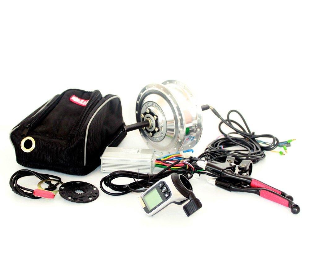 36v48v 250ワット電動自転車変換キット付きlcdディスプレイ電動自転車リアホイールキット呉興親指スロットル付き液晶表示 [並行輸入品] B07B8KGNSZ 48V LCD Thumb 48V LCD Thumb