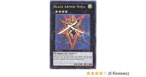 Yu-Gi-Oh! - Blade Armor Ninja (ORCS-EN041) - Order of Chaos - Unlimited Edition - Super Rare
