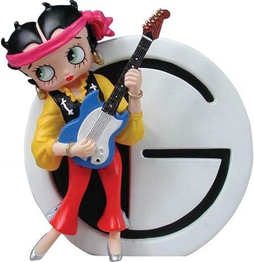 LW WL SS-WL-6747 Betty Boop As Hippie - Guitarra con Letra G, 8,89 ...