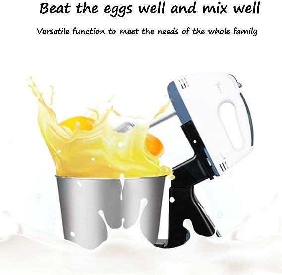 LJXWH Batidor de Huevos eléctrico para el hogar Mini batidor de ...