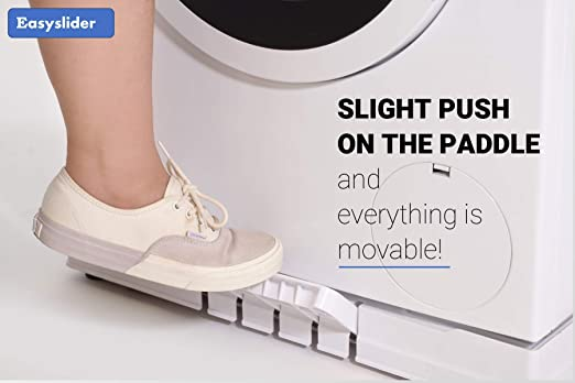 Soporte de plástico con ruedas para lavadora, de Easy Slider ...