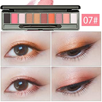Beauty & Health Professional 10 Colors Makeup Eye Shadow Eyeshadow Palette Shimmer Matte Eye Shadow Cosmetics Beauty New Eye Shadow