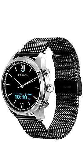 Reloj Smartwatch híbrido epoché blackmilano - Clásico fuera ...