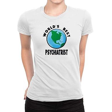 Amazon com: Idakoos World's Best Psychiatrist Planet Women T