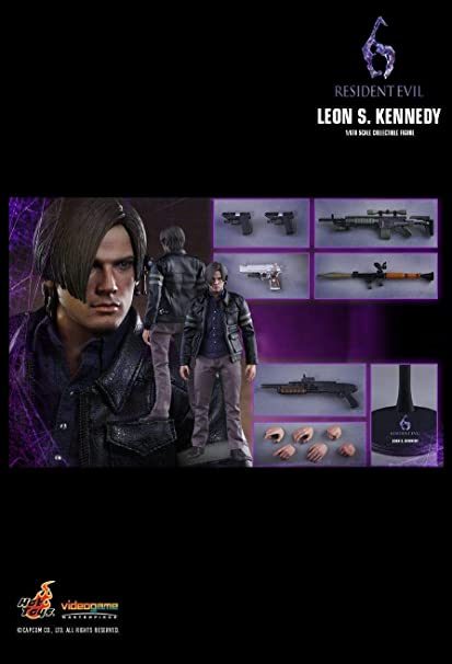 Amazon Com Hot Toys Vgm22 Resident Evil 6 Leon S