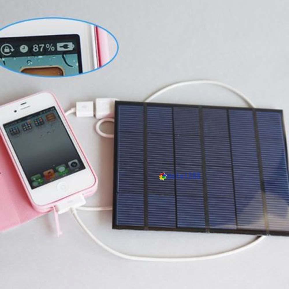 MAZIMARK--USB Solar Panel Power Bank External Battery Charger For Mobile Phone Tablet KJ