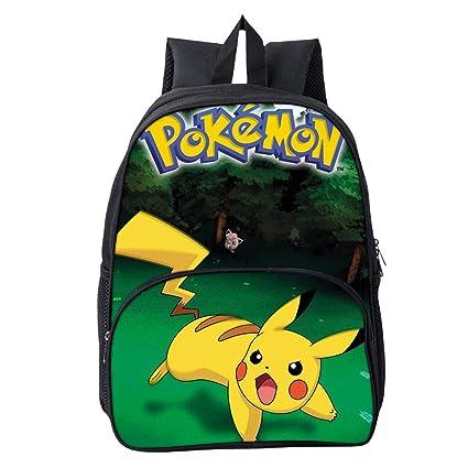 Mochila Pokemon Escolar, Mochila Pokemon Go Pikachu Eevee ...