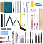 Swpeet 87Pcs Gundam Modeler Basic Tools, Gundam Model Tools Kit Perfect