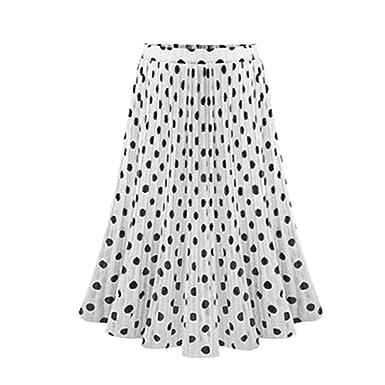 Señoras Falda De Verano Moda Chica Falda Elegante Vintage Mode De ...