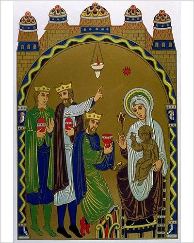 Photographic Print Of Adoration Of Magi (Jesuss Birth)