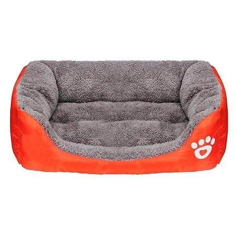 yhwygg Cama Perro Puppy Cat Soft Warm Kennel Otoño Invierno ...