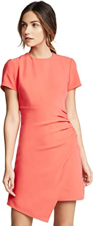 Cinq a Sept Women's Imogen Dress, Hot Coral, Orange, Pink, 2
