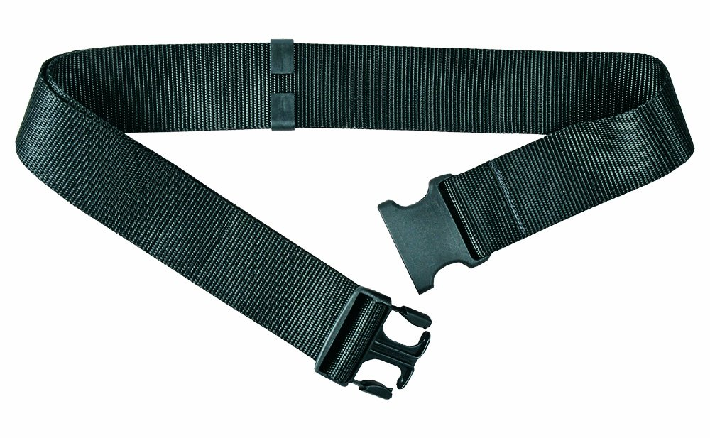 Gear Keeper 1-0159-01 Nylon Web Belt with Side Release Buckle, 48'' Length x 2'' Width