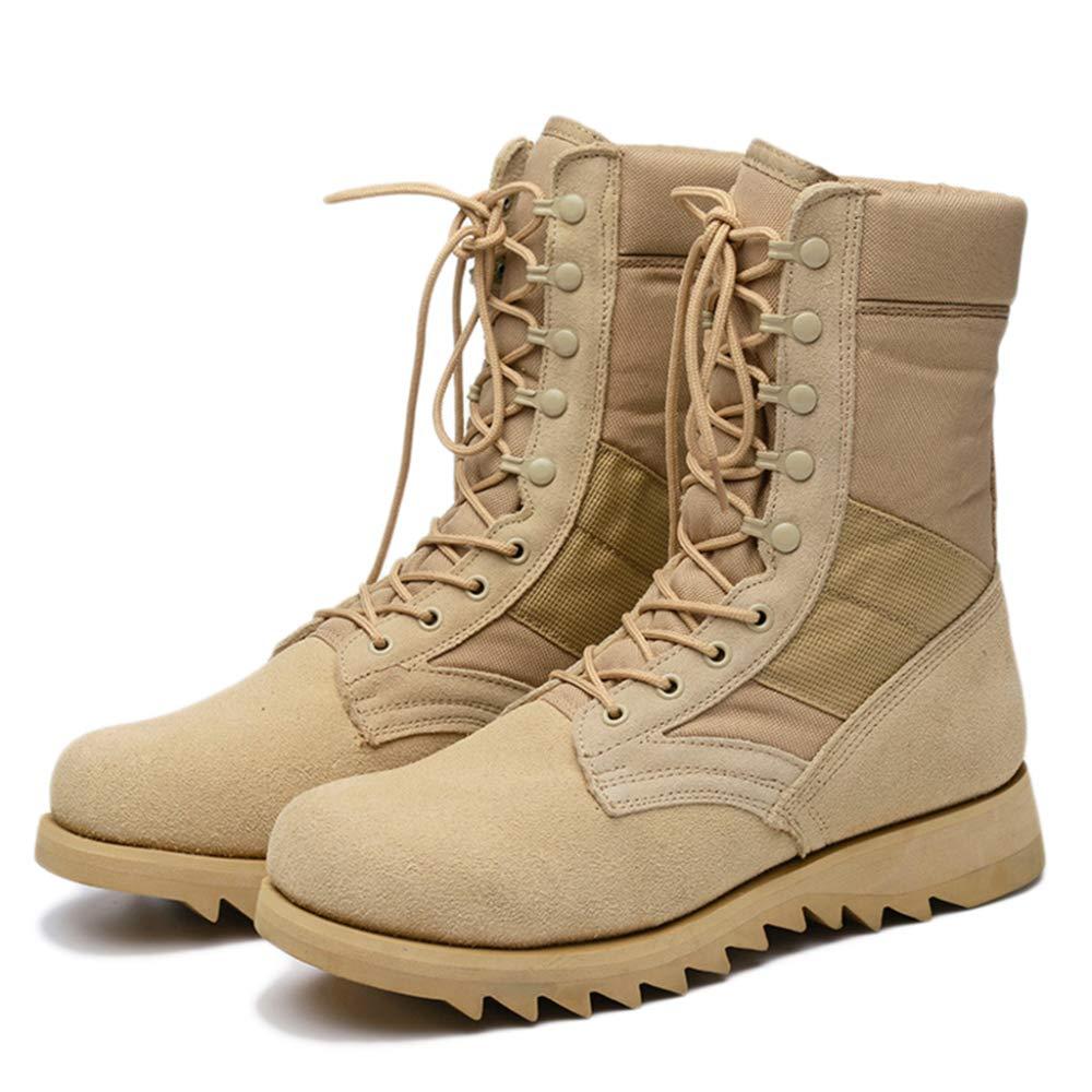 Bottes De Commando Pour Homme Classique Combat Au Travail Désert Botte Escalade Trekking Randonnée Chaussures Confortable Respirant Chaussures à Lacets SZRY