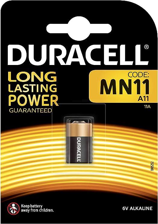 Pila Duracell 6v MN11