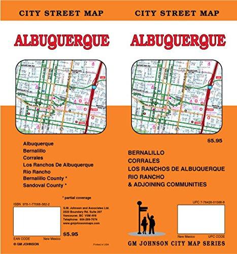 Albuquerque, NM Street Map (Albuquerque Street Map)