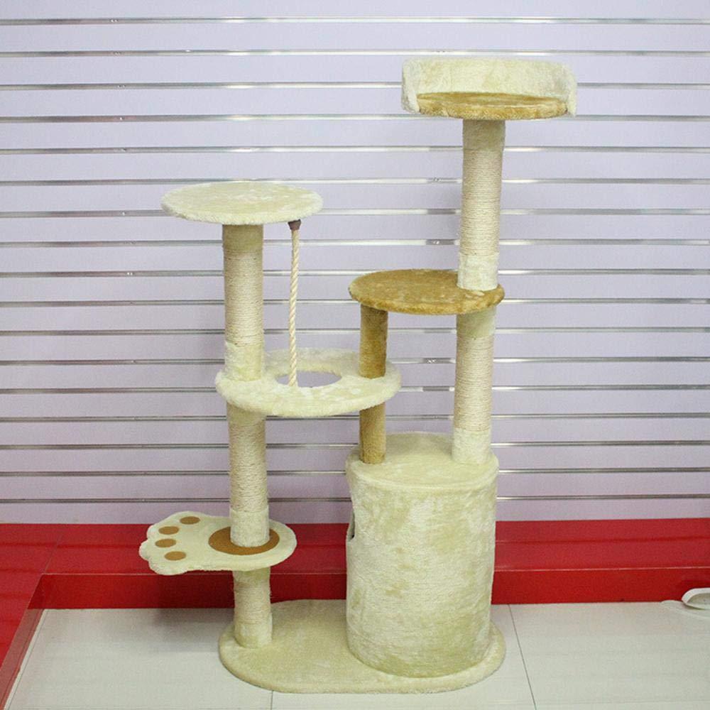 Weiwei Cat Climb Frame cat Tree cat Litter cat Grab Column for Sleeping Game 40cm 70cm  142cm
