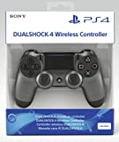 Sony DualShock 4 v2 Gamepad PlayStation 4 Negro, Acero inoxidable - Volante/mando (Gamepad, PlayStation 4, Analógico/Digital, D-pad, Hogar, Share, Inalámbrico y alámbrico, Bluetooth/USB)