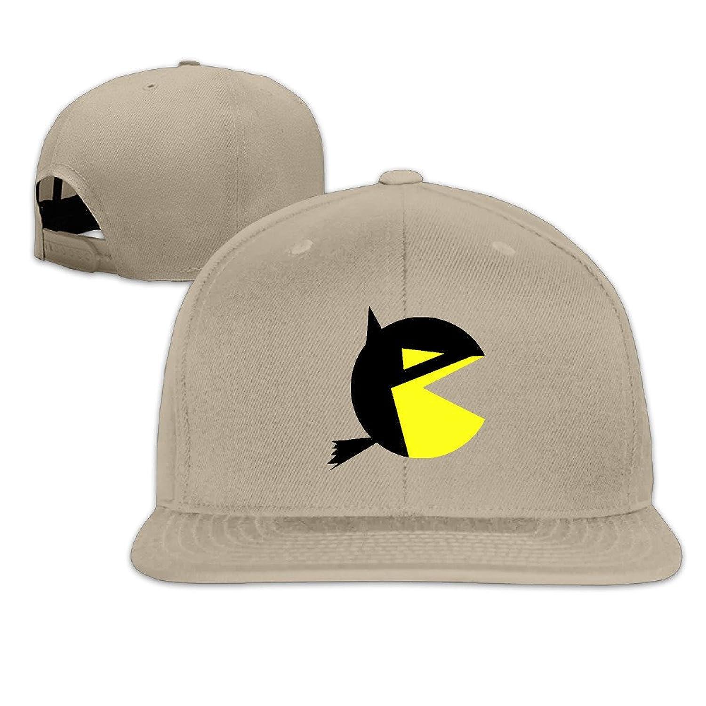 MYDT1 Pac-batman Flat Baseball Caps Hats For Unisex