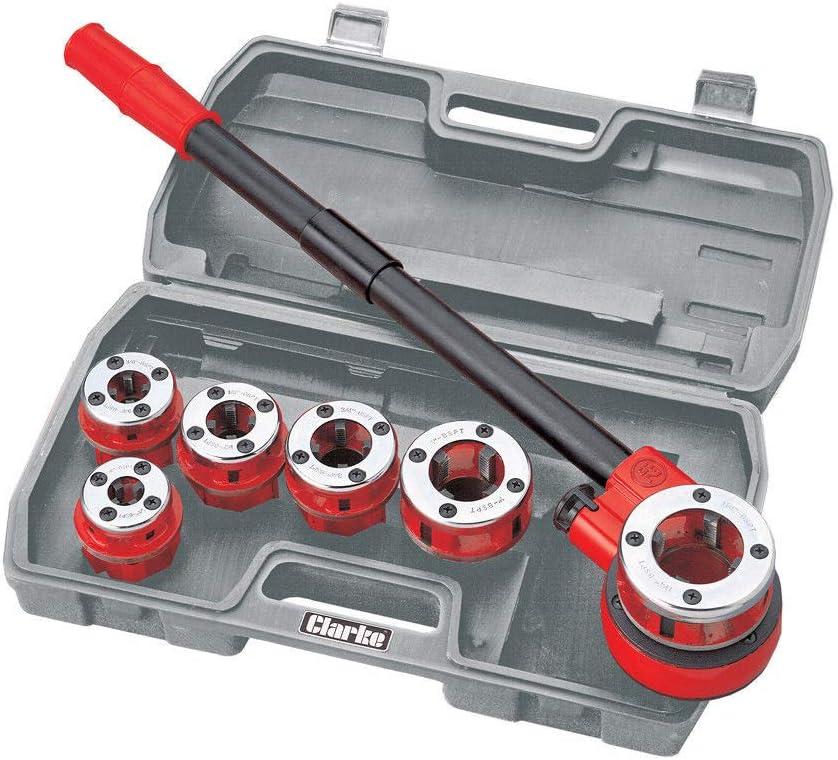 Clarke Plombiers Kit filetage pour tuyau 6pi/èces