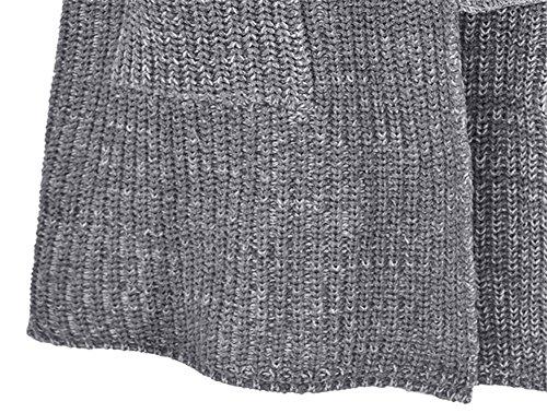 Hollwald Sweat Tricot Longue Cardigan Pull 8rv68