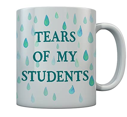 9bd834a72df Teacher Gifts Tears of My Students Coffee Mug Funny 15 Oz. White:  Amazon.ca: Home & Kitchen